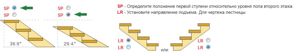 Расчет металлической лестницы с тетивой зигзаг