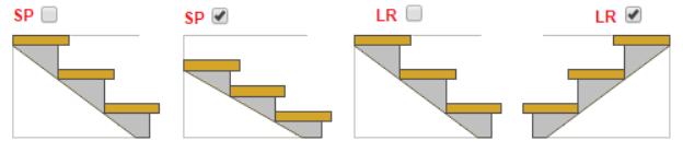 Расчет металлической лестницы с поворотом на 90 градусов