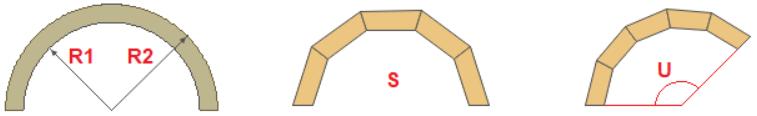 Калькулятор расчета заготовок для изготовления арки